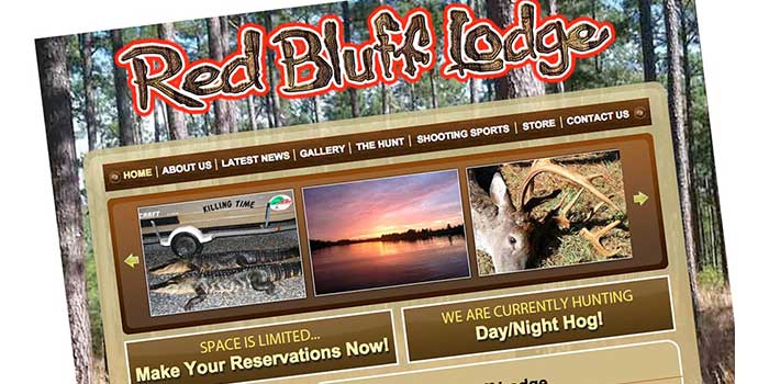 Red Bluff Lodge (Allendale, South Carolina) - a full-service shooting sports and hunting destination.